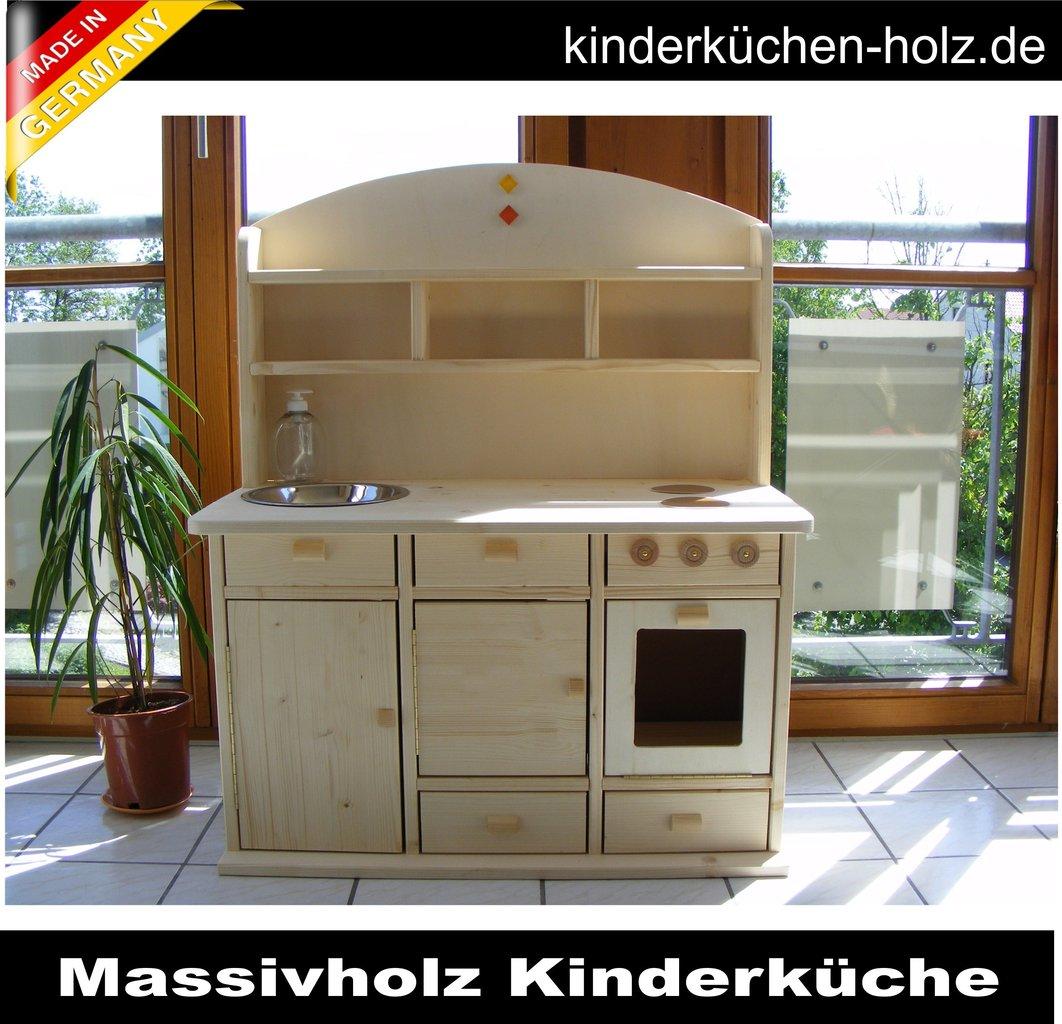 KinderkUche Holz Deutschland ~ Kinderküche Spielküche LARA aus Massivholz handgemacht