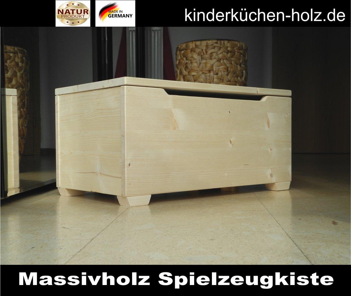 spielzeugkiste spielzeugtruhe holz gr e l. Black Bedroom Furniture Sets. Home Design Ideas