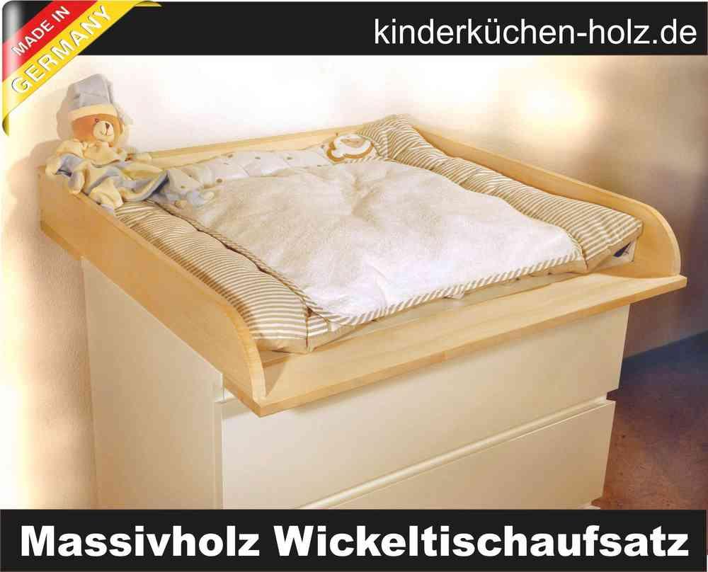Wickelaufsatz Massivholz Fur Ikea Malm Und Alle Wickelkommoden